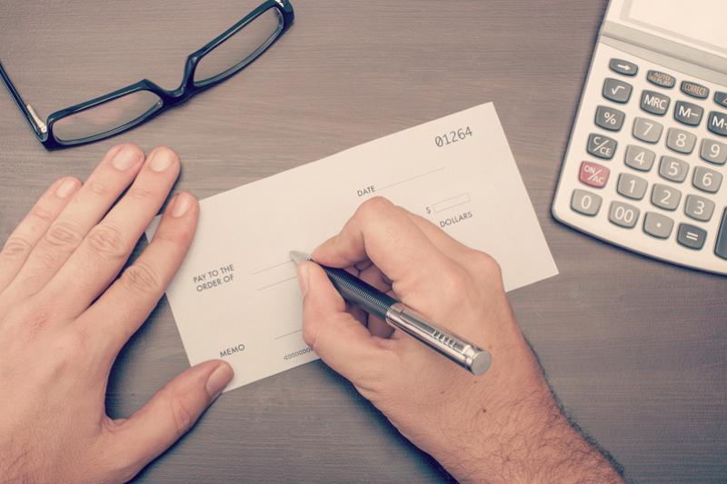 Talón conformado y otros tipos de cheques