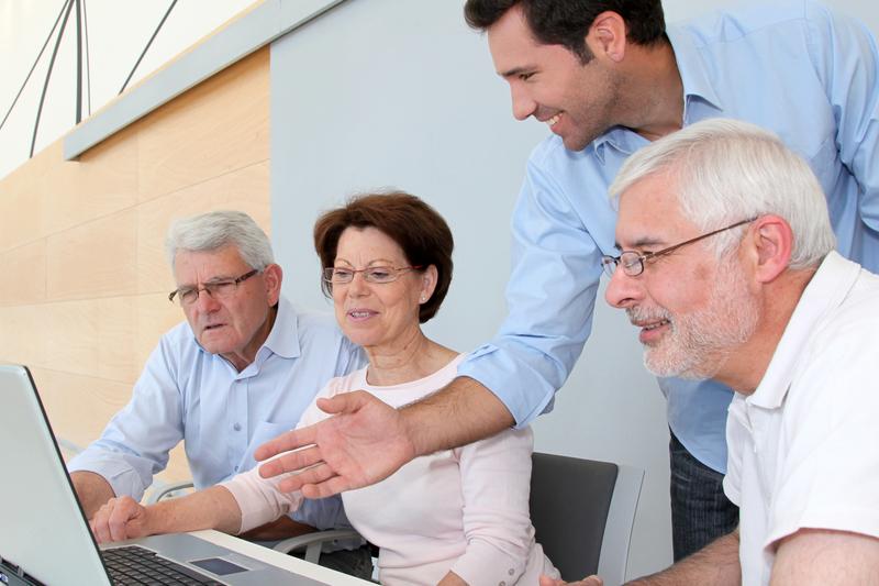 trabajo para los mayores de 55 años