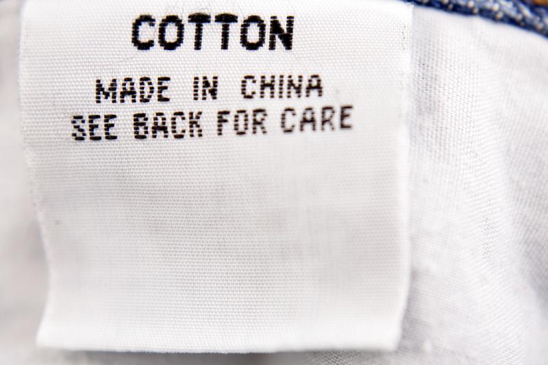 IVA de productos comprados a China