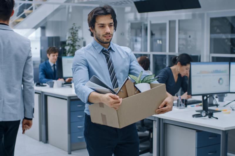 trabajador despedido